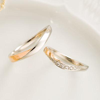 シフォン 結婚指輪