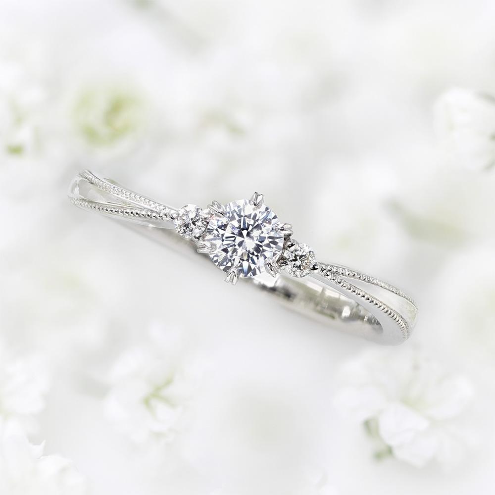 プリエ 婚約指輪